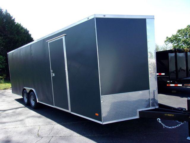 2021 Covered Wagon Enclosed 8 1/2x24 5 Ton 7 Ft in Madison, Georgia 30650