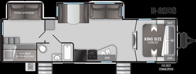 2021 Cruiser Rv RADIANCE ULTRA-LITE R-30DS in Mandan, North Dakota 58554