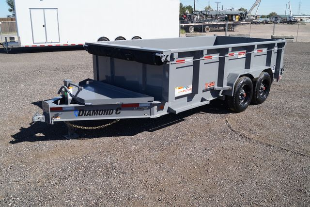 2021 Diamond C - 14' Heavy Duty Low Pro Dump - $13,595
