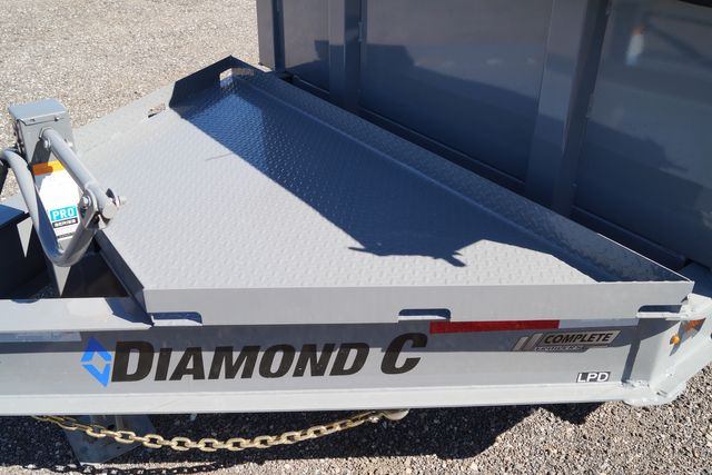 2021 Diamond C - 14' Heavy Duty Low Pro Dump - $13,595 in Keller, TX 76111