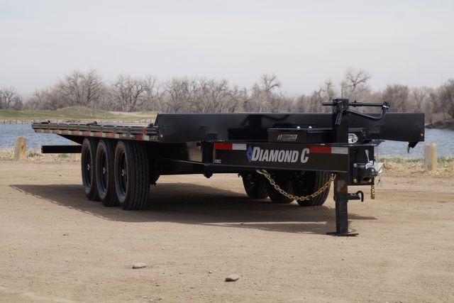 2021 Diamond C 22' Triple Axle Deck Over Tilt Trailer in Keller, TX 76111