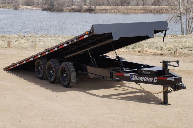 2021 Diamond C 22' Triple Axle Deck Over Tilt Trailer