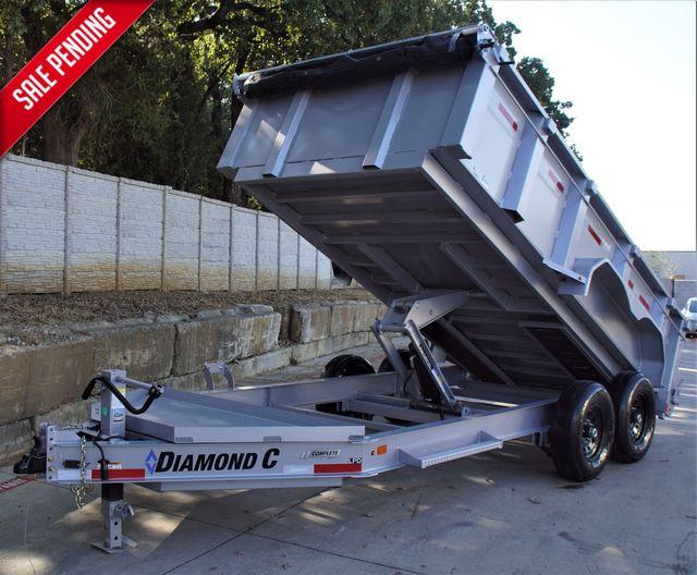 2021 Diamond C 82'' X 12' LOW PROFILE 14K DUMP TRAILER ***SALE ZERO INFALTION*** $12,995