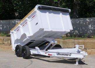 2021 Diamond C 82'' X 12' LOW PROFILE 14K DUMP TRAILER W/ SOLAR AND BOARD BRACKETS $12,995 in Keller, TX 76111