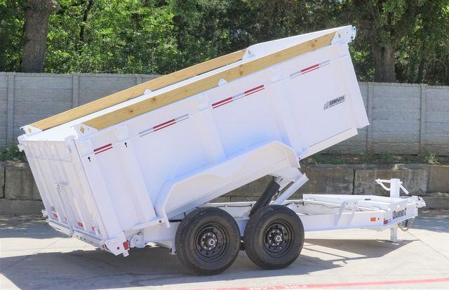 2021 Diamond C 82'' X 12' LOW PROFILE 14K DUMP TRAILER W/ SOLAR AND BOARD BRACKETS $13,495 in Keller, TX 76111