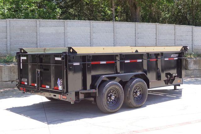 2021 Diamond C 82'' X 14' LOW PROFILE 14K DUMP TRAILER W/ SOLAR AND BOARD BRACKETS $14295 in Keller, TX 76111