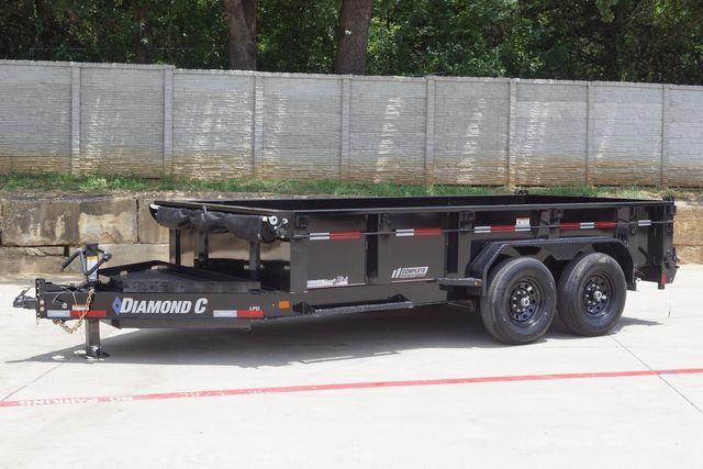 2021 Diamond C 82'' X 14' LOW PROFILE 14K DUMP TRAILER W/ SOLAR AND BOARD BRACKETS $12,795 in Keller, TX 76111