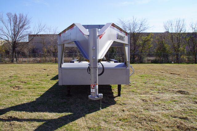 2021 Diamond C 82''X 25' TRIPLE AXLE TILTING HD GOOSENECK TRAILER in Keller, TX 76111