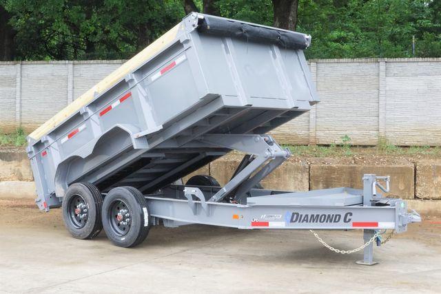 2021 Diamond C 82X12 DUMP TRAILER 8K AXLES AND 7G BODY AND SIDES $18,095 in Keller, TX 76111