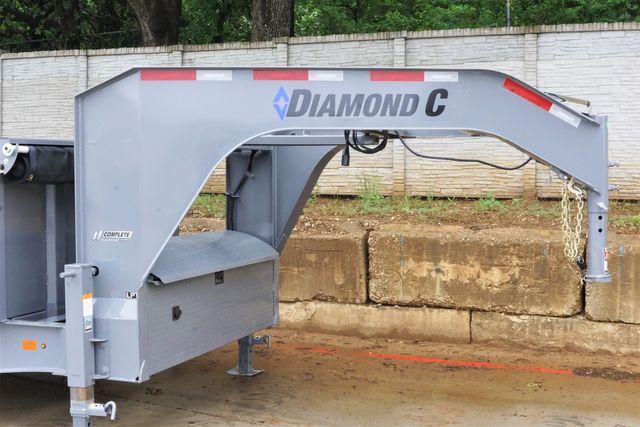 2021 Diamond C DIAMOND C ALL NEW 8K AXLE GOOSENECK TELESCOPIC DUMP TRAILER W/ 7G BODY AND SIDES $20,195 in Keller, TX 76111