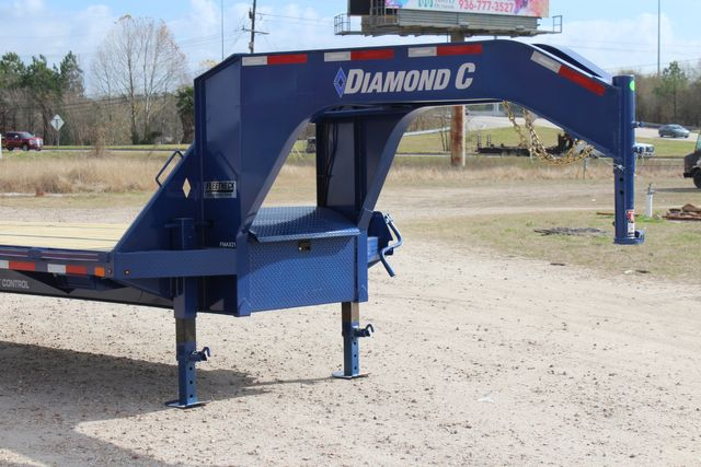 "2021 Diamond C FMAX210 - 35' Max Ramps Goose Neck 35' x 102"" Engineered Beam Max Ramps CONROE, TX 2"