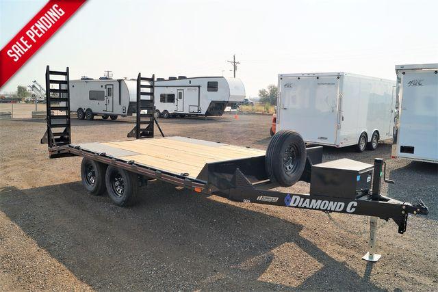 "2021 Diamond C GDD 20'x102"" $7395 in Keller, TX 76111"