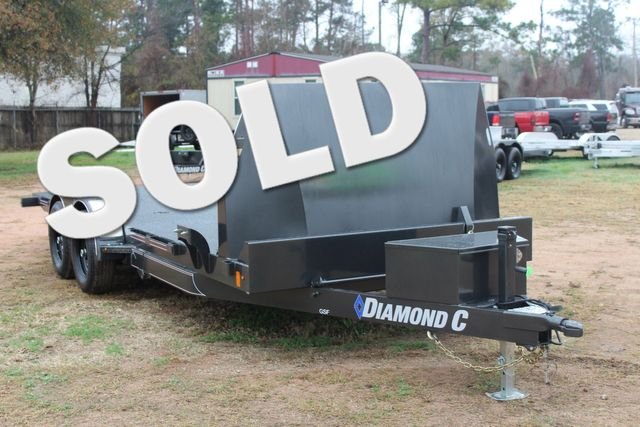 2021 Diamond C GSF252 20X82 General Steel Floor Trailer 20' Hydraulic Tilt CONROE, TX
