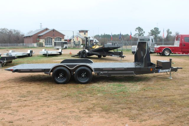 2021 Diamond C GSF252 20X82 General Steel Floor Trailer 20' Hydraulic Tilt CONROE, TX 16