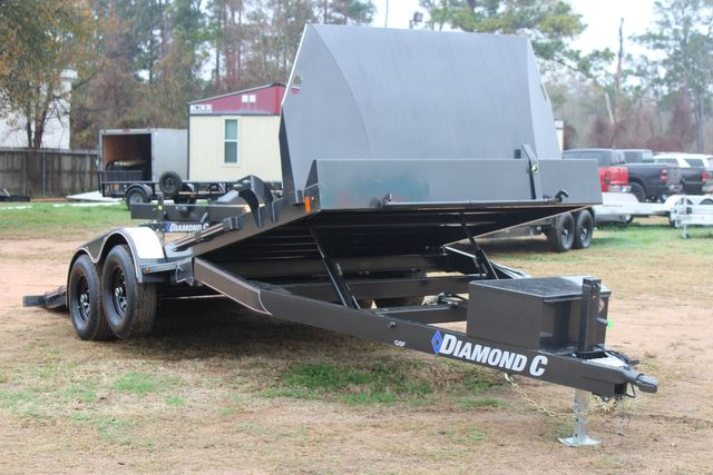 2021 Diamond C GSF252 20X82 General Steel Floor Trailer 20' Hydraulic Tilt CONROE, TX 17