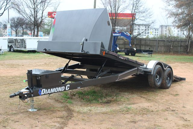 2021 Diamond C GSF252 20X82 General Steel Floor Trailer 20' Hydraulic Tilt CONROE, TX 20