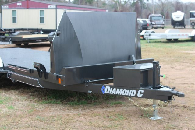 2021 Diamond C GSF252 20X82 General Steel Floor Trailer 20' Hydraulic Tilt CONROE, TX 3