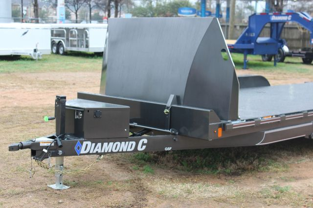 2021 Diamond C GSF252 20X82 General Steel Floor Trailer 20' Hydraulic Tilt CONROE, TX 5