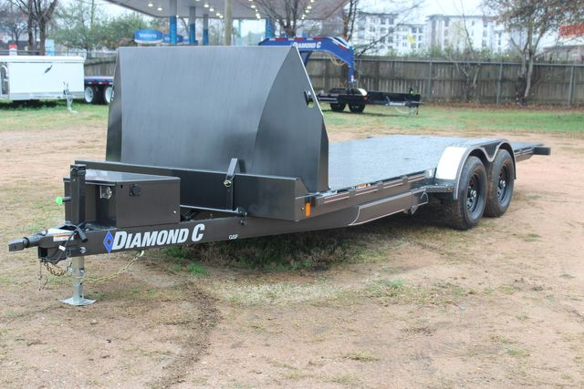 2021 Diamond C GSF252 20X82 General Steel Floor Trailer 20' Hydraulic Tilt CONROE, TX 7