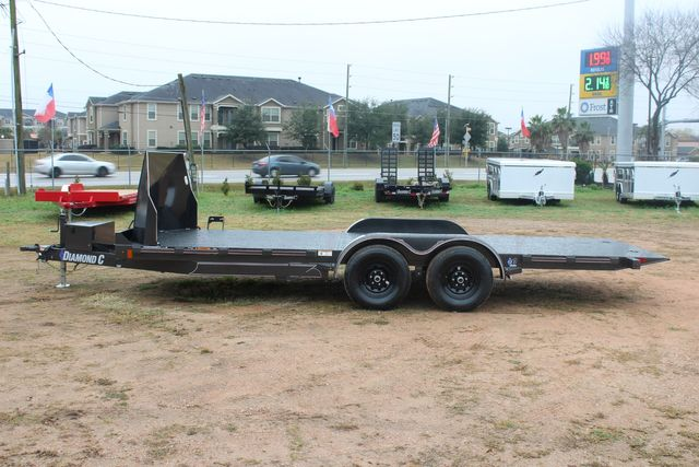 2021 Diamond C GSF252 20X82 General Steel Floor Trailer 20' Hydraulic Tilt CONROE, TX 8