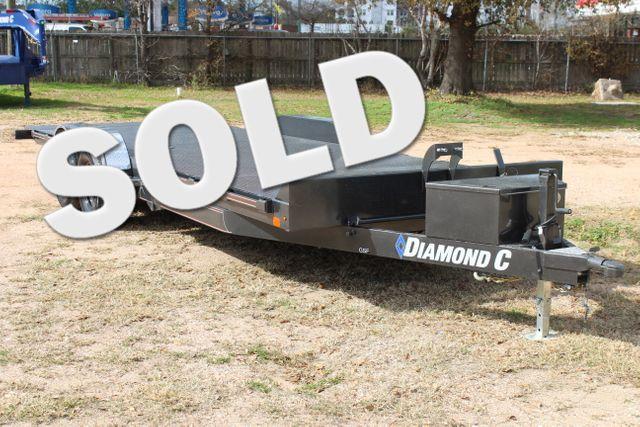 2021 Diamond C GSF252 - 22 General Steel Floor Trailer, 9,890 GVWR Package 5k CONROE, TX