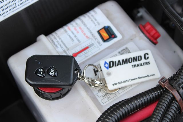 2021 Diamond C GSF252 - 22 General Steel Floor Trailer, 9,890 GVWR Package 5k CONROE, TX 11