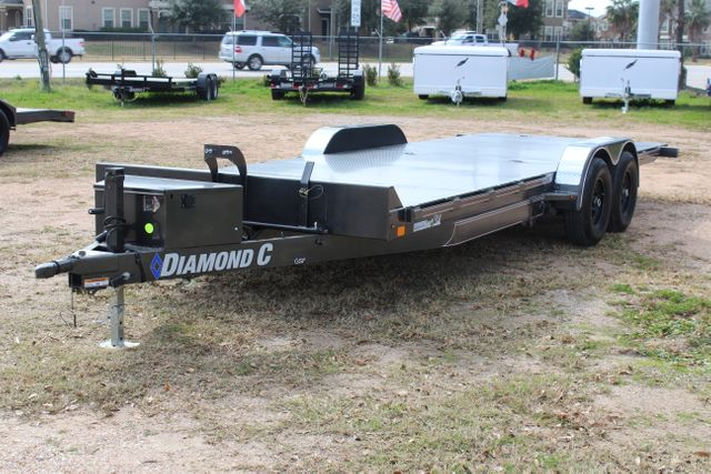 2021 Diamond C GSF252 - 22 General Steel Floor Trailer, 9,890 GVWR Package 5k CONROE, TX 14
