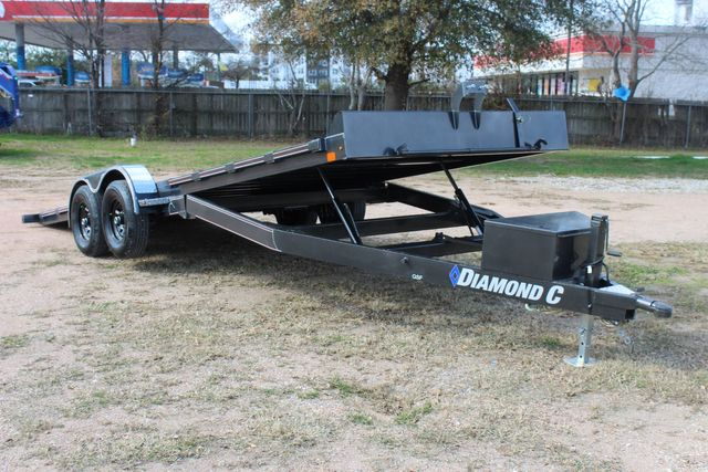 2021 Diamond C GSF252 - 22 General Steel Floor Trailer, 9,890 GVWR Package 5k CONROE, TX 1