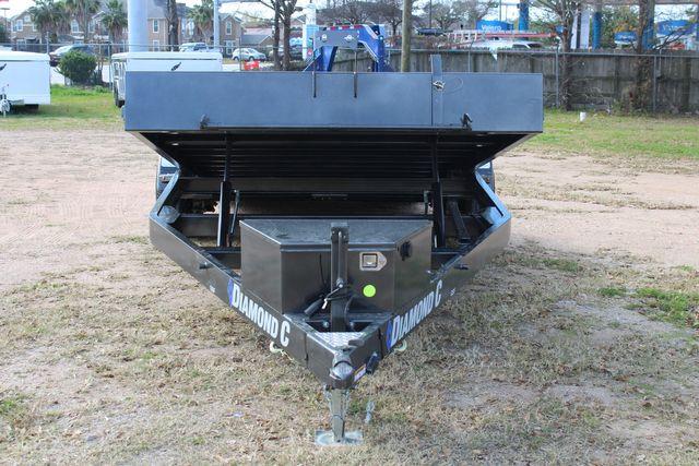 2021 Diamond C GSF252 - 22 General Steel Floor Trailer, 9,890 GVWR Package 5k CONROE, TX 5