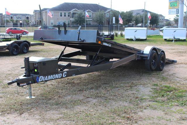 2021 Diamond C GSF252 - 22 General Steel Floor Trailer, 9,890 GVWR Package 5k CONROE, TX 13