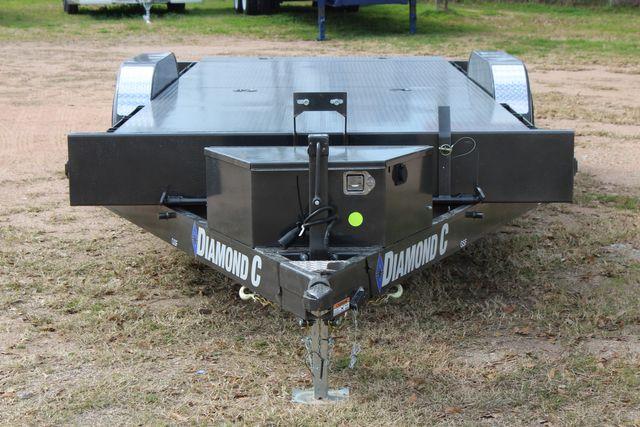 2021 Diamond C GSF252 - 22 General Steel Floor Trailer, 9,890 GVWR Package 5k CONROE, TX 4