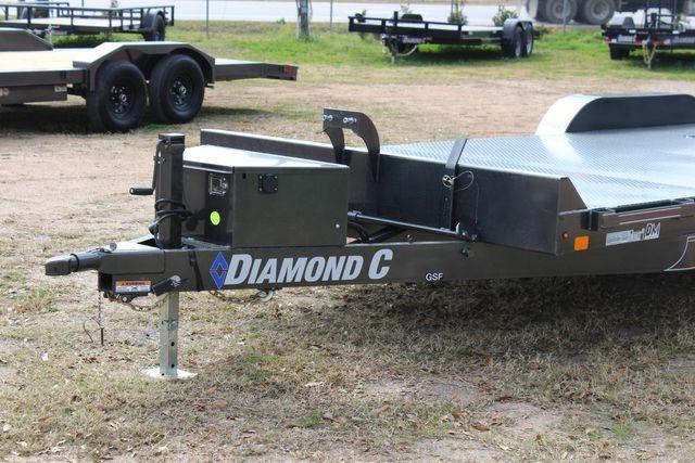 2021 Diamond C GSF252 - 22 General Steel Floor Trailer, 9,890 GVWR Package 5k CONROE, TX 7