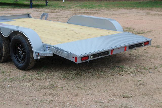2021 Diamond C GTF235 - 14' General Tandem Wood Deck Flatbed Car Trailer CONROE, TX 10