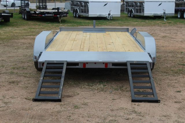 2021 Diamond C GTF235 - 14' General Tandem Wood Deck Flatbed Car Trailer CONROE, TX 16