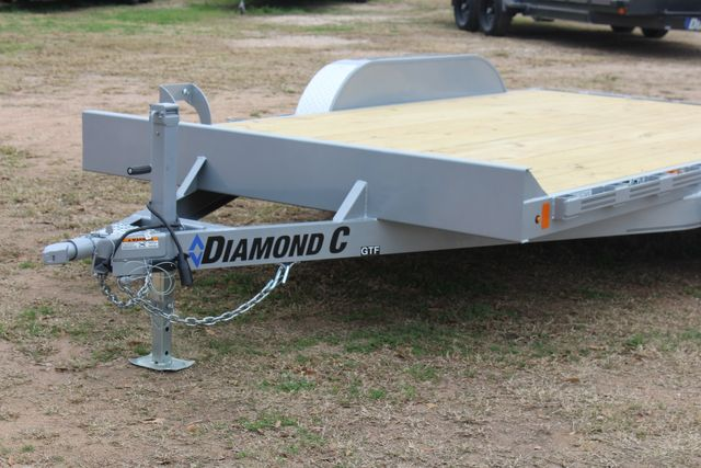 2021 Diamond C GTF235 - 14' General Tandem Wood Deck Flatbed Car Trailer CONROE, TX 4