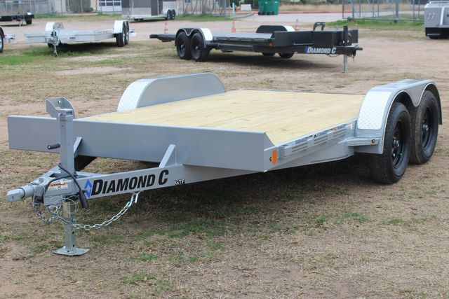 2021 Diamond C GTF235 - 14' General Tandem Wood Deck Flatbed Car Trailer CONROE, TX 6