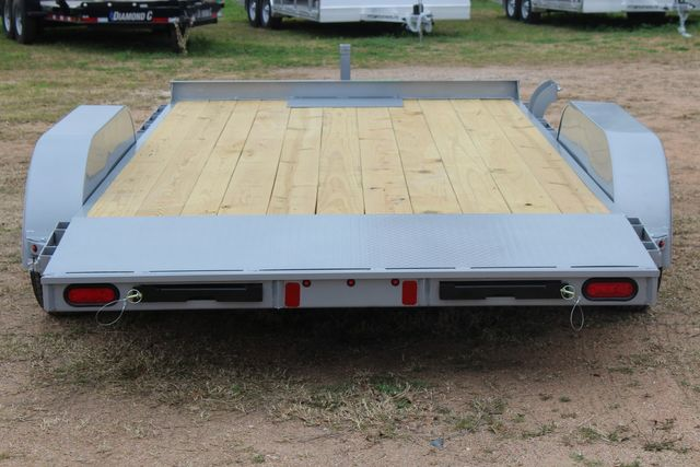 2021 Diamond C GTF235 - 14' General Tandem Wood Deck Flatbed Car Trailer CONROE, TX 12
