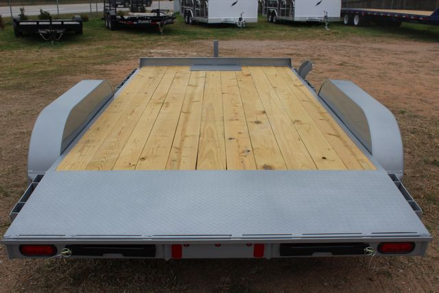 2021 Diamond C GTF235 - 14' General Tandem Wood Deck Flatbed Car Trailer in Conroe, TX 77384