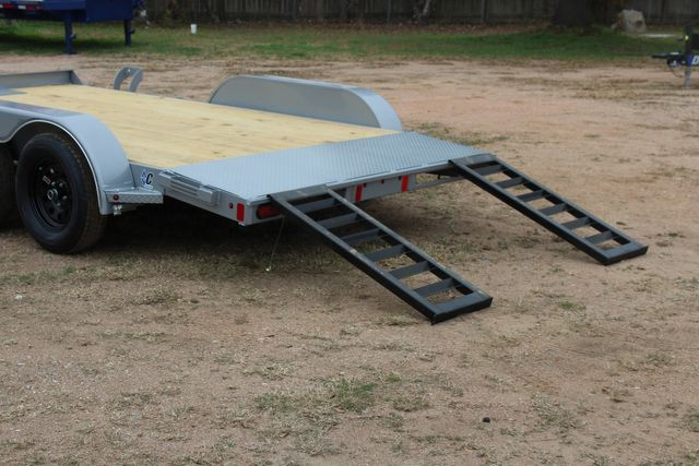 2021 Diamond C GTF235 - 14' General Tandem Wood Deck Flatbed Car Trailer CONROE, TX 11