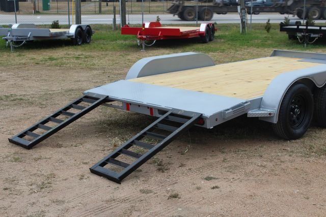 2021 Diamond C GTF235 - 14' General Tandem Wood Deck Flatbed Car Trailer CONROE, TX 18