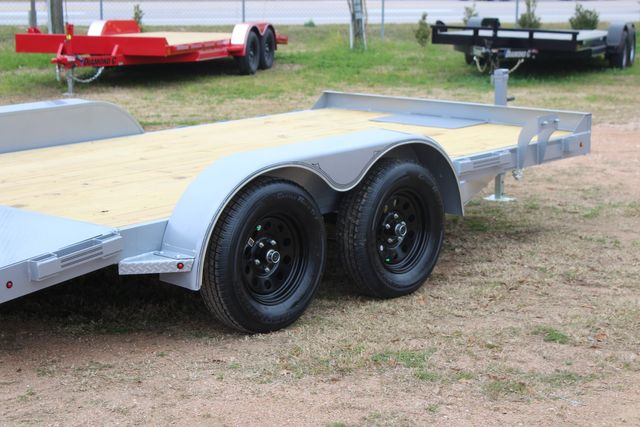 2021 Diamond C GTF235 - 14' General Tandem Wood Deck Flatbed Car Trailer CONROE, TX 19