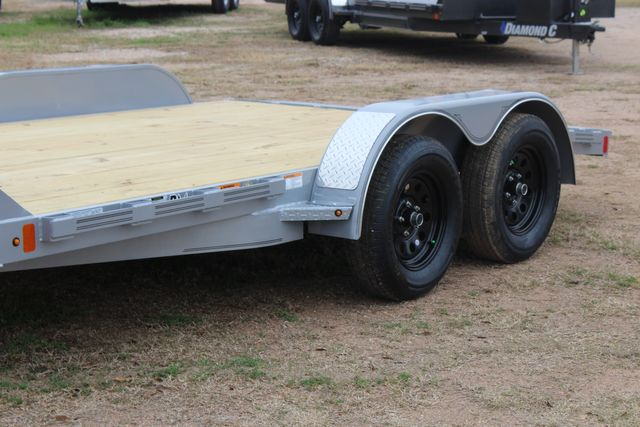 2021 Diamond C GTF235 - 14' General Tandem Wood Deck Flatbed Car Trailer CONROE, TX 5