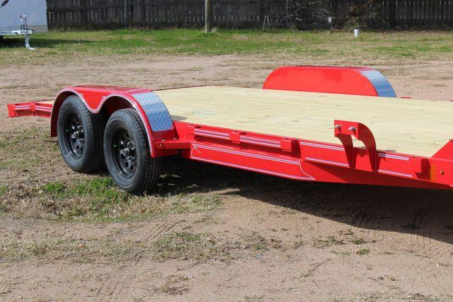 2021 Diamond C GTF235 - 20x83 General Tandem Flatbed - Open Car Trailer/ Hauler CONROE, TX 1