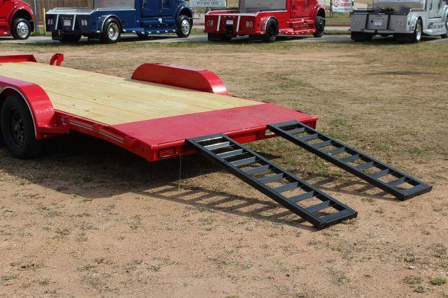 2021 Diamond C GTF235 - 20x83 General Tandem Flatbed - Open Car Trailer/ Hauler CONROE, TX 14
