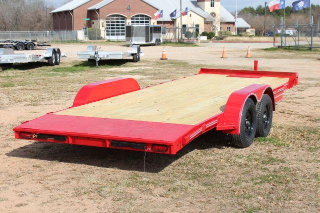 2021 Diamond C GTF235 - 20x83 General Tandem Flatbed - Open Car Trailer/ Hauler CONROE, TX 19