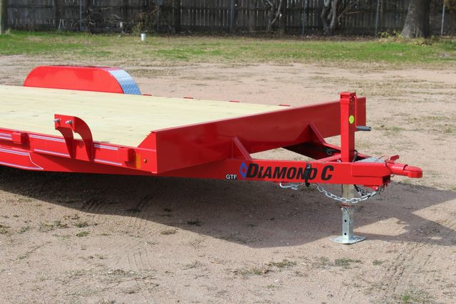 2021 Diamond C GTF235 - 20x83 General Tandem Flatbed - Open Car Trailer/ Hauler CONROE, TX 2