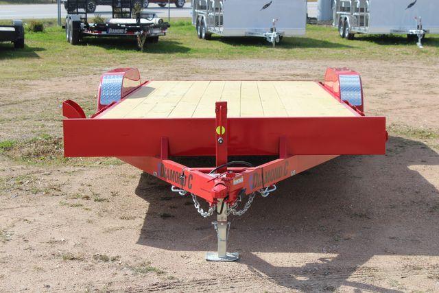2021 Diamond C GTF235 - 20x83 General Tandem Flatbed - Open Car Trailer/ Hauler CONROE, TX 3