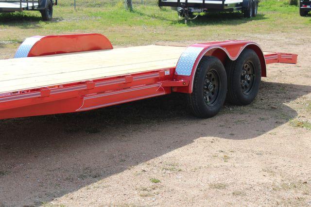 2021 Diamond C GTF235 - 20x83 General Tandem Flatbed - Open Car Trailer/ Hauler CONROE, TX 6
