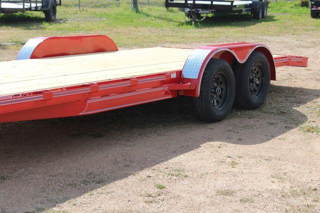 2021 Diamond C GTF235 - 20x83 General Tandem Flatbed - Open Car Trailer/ Hauler CONROE, TX 7