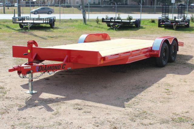2021 Diamond C GTF235 - 20x83 General Tandem Flatbed - Open Car Trailer/ Hauler CONROE, TX 8